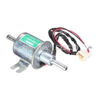 Wholesale 12V mm Pipes Car Boat Diessel Petrol HEP A Set Metal Electric Fuel Pump order lt no track