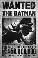 abstract painting videos - Batman Arkham Origins Silk Poster Video Game Picture WANTED THE BATMAN X36INCH