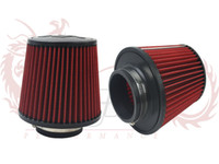 Wholesale KYLIN STORE Universal Cold Car Air Intake Filter mm and mm height Air racing Filter