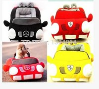 Wholesale New Arrival Sofa Bed Tote Small Black Red Popular Soft and Warm Pet Dog Cat Car Bed House