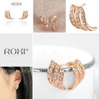 Wholesale new Exquisite gold plated earrings fruit jewelry women trendy earrings