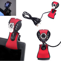 Wholesale New Monkey King USB HD Webcam Web Camera with Microphone LED