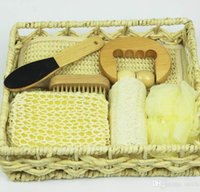 corporate gift - spa gift set Corporate gifts Party Supplies Basket gift for shower family and baby naturism bathroom accessories set