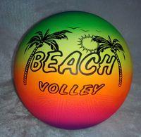 Wholesale rainbow color Inflatable balls for kids beach balls children toy balls plastic balls pool balls for kids dia cm quot