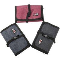 best digital storage - Best Promotion Original Three Colors BUBM Spring Rolls Folding Carry Case S Size For Digital Storage Bag