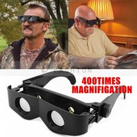 Wholesale New Easily Adjust Magnification Magnifying Magnifiers Lightweight Comfortable wear Glasses Telescope