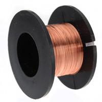 Wholesale 0 mm Copper Soldering Solder PPA Enamelled Reel Wire Line Roll MM small order no tracking
