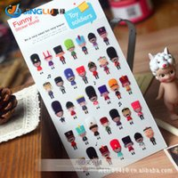 Wholesale Funny Stereo Epoxy Sticker The Toy Soldiers Album Diary Of A Photo Album To Stick
