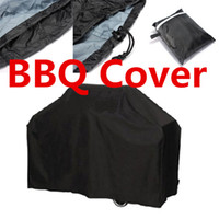 Wholesale 150 cm BBQ Waterproof Barbecue Grill Cover BBQ Burner Cover Outdoor Grill Dust Cover Rain Protector Outdoor Cooking BBQ Tools
