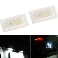 backup lights for truck - Pair SMD LED Car License Plate Light Lamp for BMW Mini Cooper R50 R52 R53 Rear Backup Tail Lamp Truck Trailer Bulb order lt no track