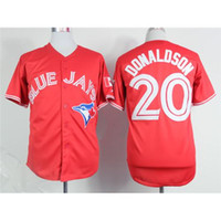 fashion baseball jerseys - Blue Jays Josh Donaldson Red Baseball Jerseys Fashion Baseball Wears Comfy Mens Stylish Baseball Uniforms Best Quality Lowest Price