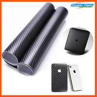 Wholesale 1 m Waterproof DIY Car Motorcycle Sticker Car Styling D D M Car Carbon Fiber Vinyl Wrapping Film Car Accessories Film