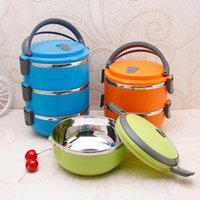 Wholesale Stainless Insulated Thermal Thermo Server Lunch Box Food Storage Container Bento