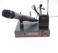 professional karaoke system - Professional Wireless Microphones System Lapel System Lavalier Clip mic UHF Wireless microphone DHL Free