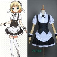Wholesale 2015 japanese anime jumpsuit lolita maid outfit cosplay school girl uniform sissy satin lockable dress halloween costumes cosplay adult