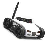 Wholesale home security remote control by iPhone iPad car toy tank with spy monitor wifi camera