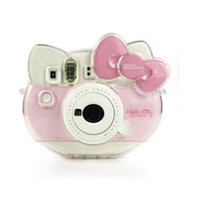 Wholesale Clear Cheap Camera Case For Fujifilm Polaroid Instax Mini Hello Kitty th Perfect Fit Hard PU Camera Case Covers