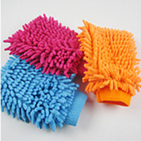 Wholesale Super Mitt Microfiber Car Window Washing Home Cleaning Cloth Duster Towel Glove3
