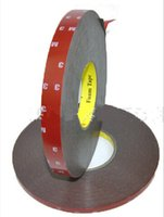Wholesale mm M Tape Double sided Adhesive Auto Acrylic Foam Rubber Tape Trim roll