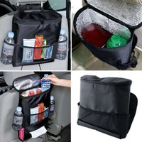 Wholesale Safety Car Auto Seat Back Storage Bag Organizer Free Seat Hanger