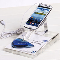 Acrylic cell mobile phone display stand acrylic cell phone display stands - crystal clear transparent Acrylic cell mobile phone display stand for shop exhibition