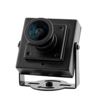 Wholesale FPV Mini CAM Digital Security Camera HD for Aerial Photography FPV Flight Camcorder Black Wide Angle