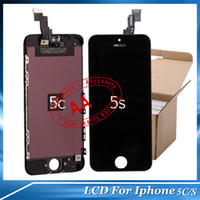 Wholesale Good LCD Digitizer iPhone5 Repair Part For iphone g C s LCD Glass Touch Screen For Cell Phone Parts