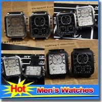 best mens digital watch - Best Mens Watches Black Square Sport Watch Leather Watcheband Quartz Wristwatch Watches For Men Relogio Masculino