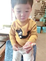 baby cardigan patterns - New High Quality Autumn Winter Cartoons Boys Sweaters Turtleneck Cute Cat Pattern Solid Color Casual Baby Boys Sweater C41012417