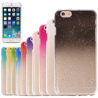 apple classes - New Arrival iPhone Case High Class Quality New Crystal D Rain Drop Clear Hard Case Cover Back Protector For iPhone