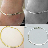 Wholesale New Fashion Accessories Jewelry Gold Chain Anklet Adjustable Charm Anklet Ankle Leg Bracelet Foot Jewelry Body