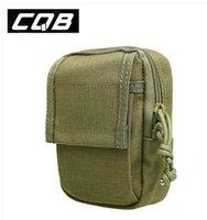 ykk waterproof zipper - CQBTactical Molle Waist Pack Men s Casual Work Tool Multifunctional Army Military Shoulder Bag D Nylon YKK zipper Waterproof