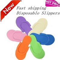 disposable slippers - Better choiceWholesale portable multicolour indoor outdoor anti skidding disposable slippers for hotel home resell EMS