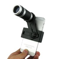 Wholesale Universal X Zoom Phone Telescope Telephoto Camera Lens for Cellphone iPhone S S C Plus Samsung S6 S5 S4 S3 Galaxy Note