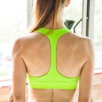 Cheap Shockproof back professional sports bra vest Yoga underwear fashion all-match safety dance Bra