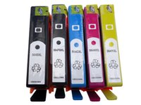 Wholesale 5 Refillable ink cartridge with chip for HP XL Photosmart C410b C6380 D5445