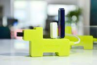Wholesale 4 in Port USB Hub with High Transmission Speed Silicon Soft Cute iDog USB Hub
