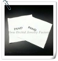 Wholesale 100Pcs White Silver Polishing Cloth CM Suitable for Branded Sterling Silver Jewelry
