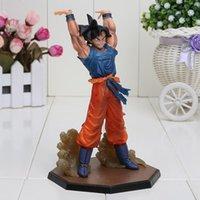 akira movie - 16cm PVC Akira Toriyama dragon ball Z Japanese anime figure Son Goku Spirit Bomb Ver Battle brinquedos for boy
