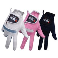 Wholesale A Pair Women s Super Soft Golf Sports Gloves Outdoor Training Soft Microfiber