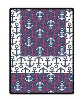 anchor blanket - Personalize Custom Retro Sailor Anchor Home Decoration Bedroom Supplies Blanket For X200 CM Soft Fleece Blanket