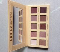 Wholesale 1pc LORAC PRO Color LORAC Unzipped Eyeshadow Pallete highly pigmented wearable matte shimmer eye shadow