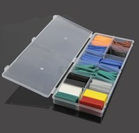 Wholesale Size Assortment Heat Shrink Tubing Tube Sleeving Wrap Wire Kit Box order lt no track