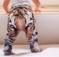 baby boy slacks - New Spring Harem Pants D Tiger Baby Boys Girls Harem Pants Trousers Kids Toddler Bottoms Slacks Sweatpants Casual Pants