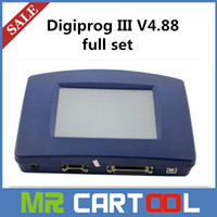 citroen - Updated V4 Digiprog III Digiprog full set Odometer Programmer With Full Software all cables DHL