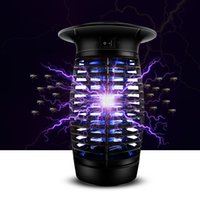 best mosquito traps - Best selling LED Electric Fly Bug Mosquito Killer lamp Mosquito light Bug Zapper Insect Outdoor trap lamp stock in US AU Germany