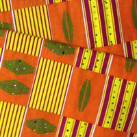 african clothing - New style cool african wax cotton prints fabric for beauty clothing rhinestone L1011