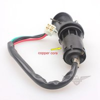 Wholesale Copper Cylinder Wire Ignition Switch Lock with Dust Cover ATV Dirt Pit Bike
