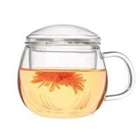 teapots - 2016 New Arrival Multi purpose Heat Resisting Clear Pyrex Glass Teapot With Handle And Lid Teapot