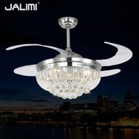 Cheap Crystal Ceiling Fans
